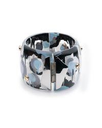 Alexis Bittar - Multicolor Petal Studded Hinge Bracelet - Lyst