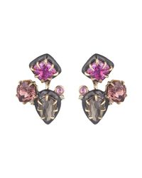 Alexis Bittar | Multicolor Custom Gemstone Stud Earring With Removable Ear Jacket You Might Also Like | Lyst