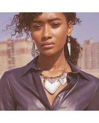 Alexis Bittar - Metallic Abstract Petal Bib Necklace - Lyst