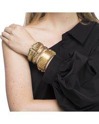 Alexis Bittar - Black Golden Studded Hinge Bracelet You Might Also Like - Lyst