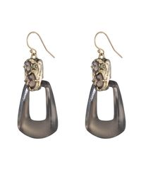 Alexis Bittar - Metallic Rocky Swinging Wire Earring You Might Also Like - Lyst