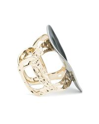 Alexis Bittar - Metallic Disk Cuff Bracelet You Might Also Like - Lyst