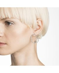 Alexis Bittar - Metallic Crystal Encrusted Organic Hoop Post Earring You Might Also Like - Lyst