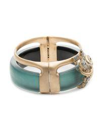 Alexis Bittar - Blue Dancing Baguette Hinge Bracelet - Lyst
