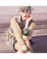 Alexis Bittar - Multicolor Large Segmented Hinge Bracelet - Lyst