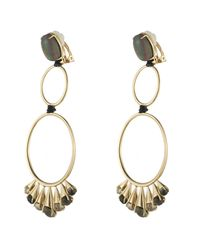 Alexis Bittar | Metallic Arrayed Stone Dangling Clip Earring You Might Also Like | Lyst