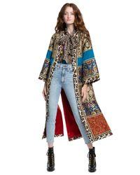 Alice + Olivia Multicolor Lynn Patchwork Kimono