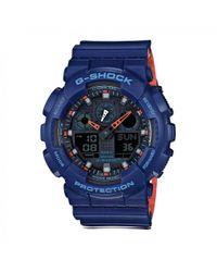 G-Shock Blue Casio Ga-100l-2aer for men