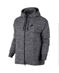 Nike Gray Nike Wmns Tech Knit Jacket Hd