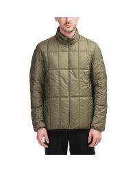 Snow Peak Recycled Middle Down Jacket in Green für Herren