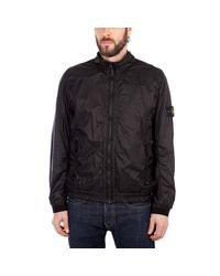Stone Island Black Capi Spalla Ottanio Jacket for men