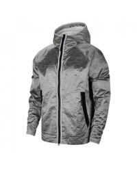 Nike Metallic Tech Pack Woven Hooded Jacket for men