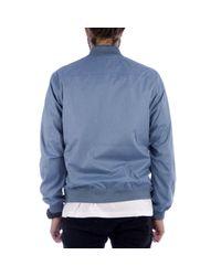 Norse Projects Blue Ryan Melange Ripstop Jacket for men