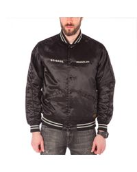 Neighborhood Black X Slam Jam Ska Souvenir Jacket for men