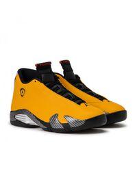 "Nike Yellow Nike Air Jordan 14 Retro Se ""reverse Ferrari"" for men"