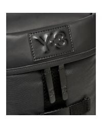 Y-3 Icon Backpack Small in Black für Herren