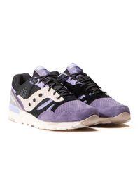 """Saucony Purple X Sneaker Freaker Grid Sd """"kushwhacker"""" for men"""