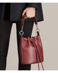 AllSaints Red Ray Sm Bucket