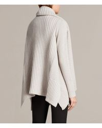 AllSaints - White Sefir Cardigan - Lyst