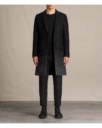 AllSaints Black Bodin Coat for men
