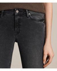 AllSaints Black Mast Jeans