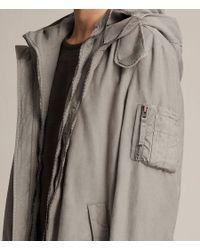 AllSaints Natural Berwyn Parka Coat for men