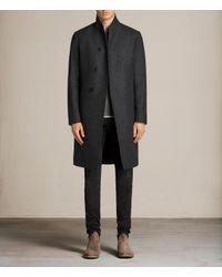 AllSaints Gray Kessler Coat for men