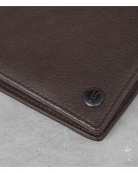 AllSaints Brown Blyth Wallet for men