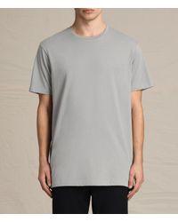 AllSaints | Gray Astra Crew T-shirt for Men | Lyst