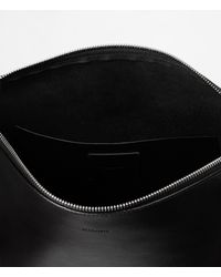 AllSaints Black Kanda Hobo Bag Usa Usa