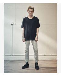 AllSaints - Black Mars Crew T-shirt for Men - Lyst