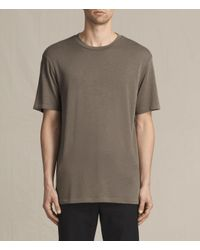AllSaints Multicolor Mars Crew T-shirt for men