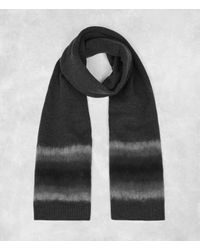 AllSaints | Gray Myst Scarf for Men | Lyst