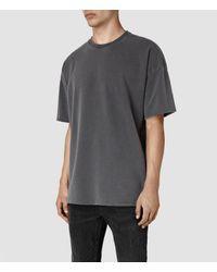 AllSaints | Multicolor Paragon Short Sleeve Crew Sweatshirt for Men | Lyst