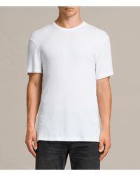AllSaints - White Kurtise Crew T-shirt for Men - Lyst