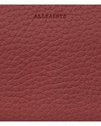 AllSaints Red Fetch Cardholder