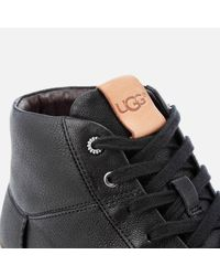Ugg Black Cali Lace High Top Trainers for men