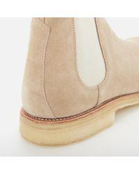 GRENSON - Natural Men's Hayden Suede Chelsea Boots for Men - Lyst