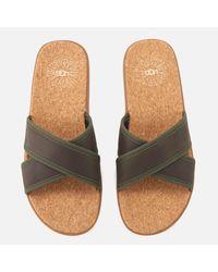 Ugg Green Seaside Slide Sandals