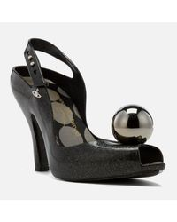 Melissa + Vivienne Westwood Anglomania - Black Women's Lady Dragon 18 Heeled Sandals - Lyst