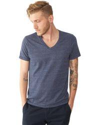 Alternative Apparel | Blue Boss V-neck Eco-jersey T-shirt for Men | Lyst