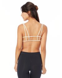 Alternative Apparel - Multicolor Nytt Ruched Bralette With Cage Back - Lyst