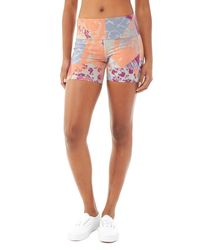 Alternative Apparel | Blue Pull Up Shorts | Lyst