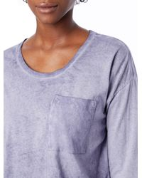Alternative Apparel - Purple Element Wash High-waisted T-shirt - Lyst