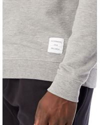 Alternative Apparel Gray Standard Issue Crew Sweatshirt for men