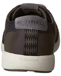 Merrell Black Freewheel Mesh Lace Low-top Sneakers