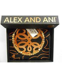 ALEX AND ANI Metallic Star Beaded Bangle Bracelet