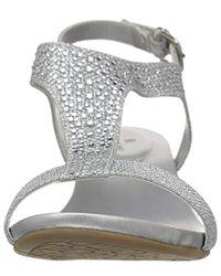 Bandolino Metallic Gruglia Wedge Sandal