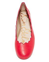 Sam Edelman Red Francis Ballet Flat