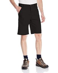 Wrangler Black Big-tall Authentics Premium Flat Front Short for men